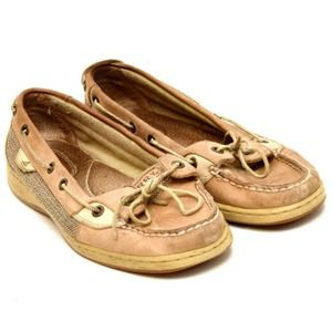 Sperry Top Sider Boat Shoes Loafers Suede Leather